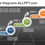 3 Step Diagram-PowerPoint Template
