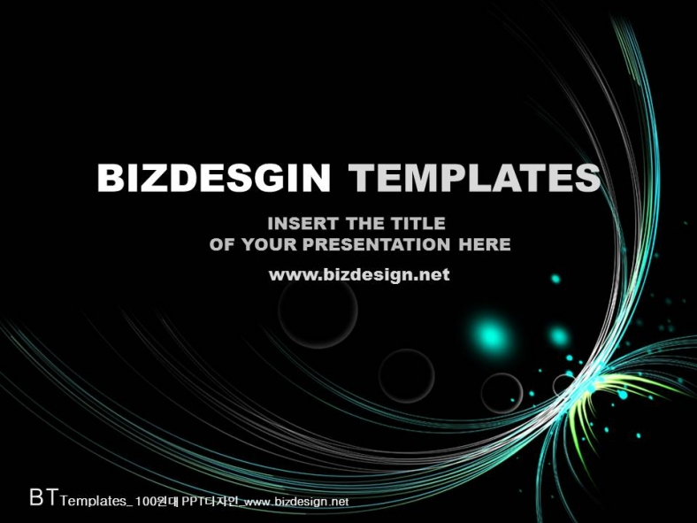 flash wave abstract powerpoint templates, Presentation templates