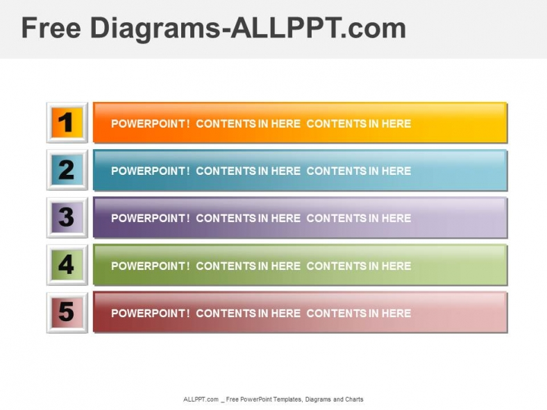 Free PowerPoint Agenda and Organization Diagrams – Agenda Templates Free