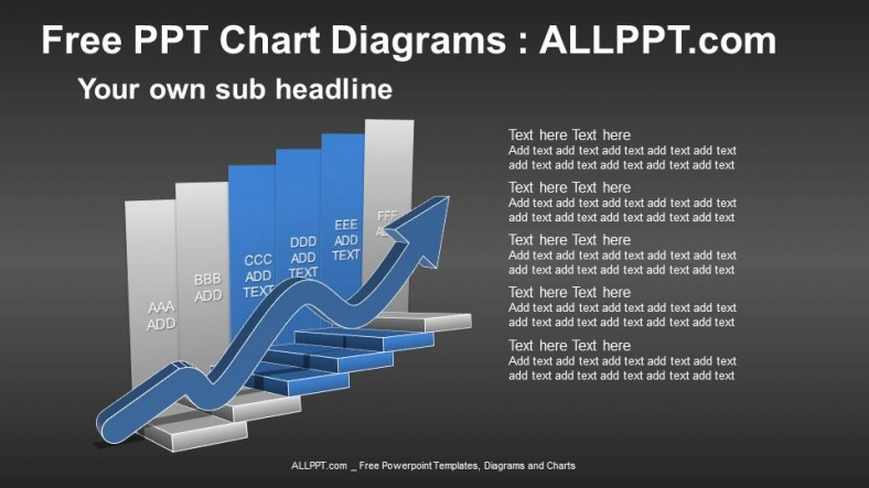 Arrow-Stair-PPT-Diagrams (2)