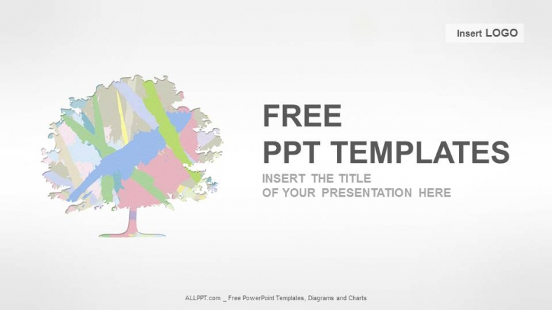 Colored-Tree-Nature-PPT-Templates (1)