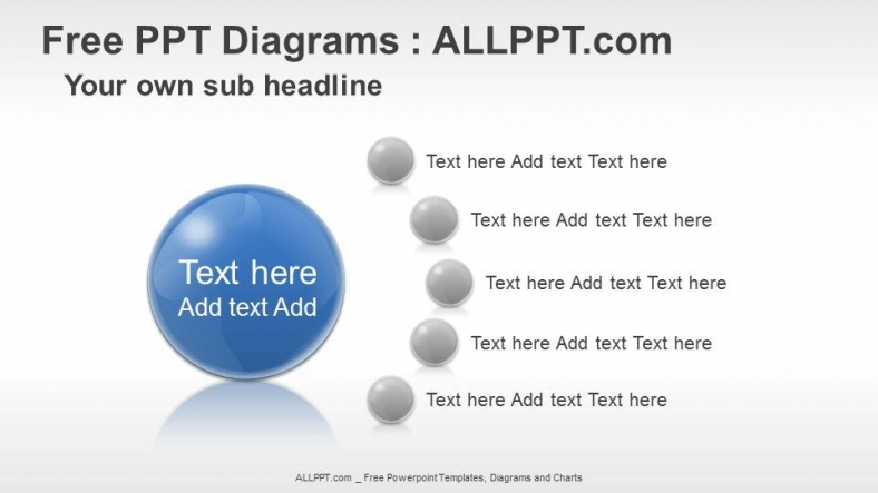 Free Five Agenda PPT Diagrams Download Free Daily Updates – Agenda Download Free
