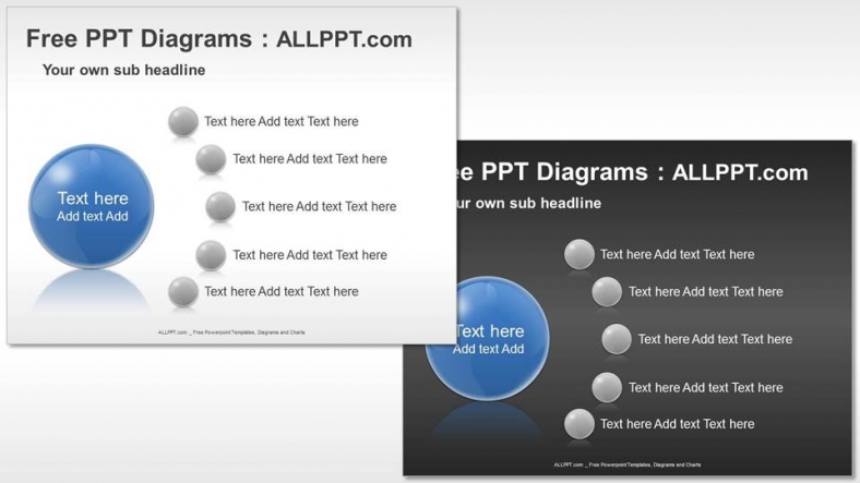 Free Five Agenda PPT Diagrams (3)  Agenda Download Free