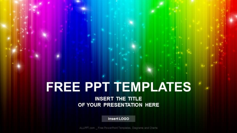 Rainbow abstract powerpoint templates download free rainbow abstract powerpoint templates toneelgroepblik Images