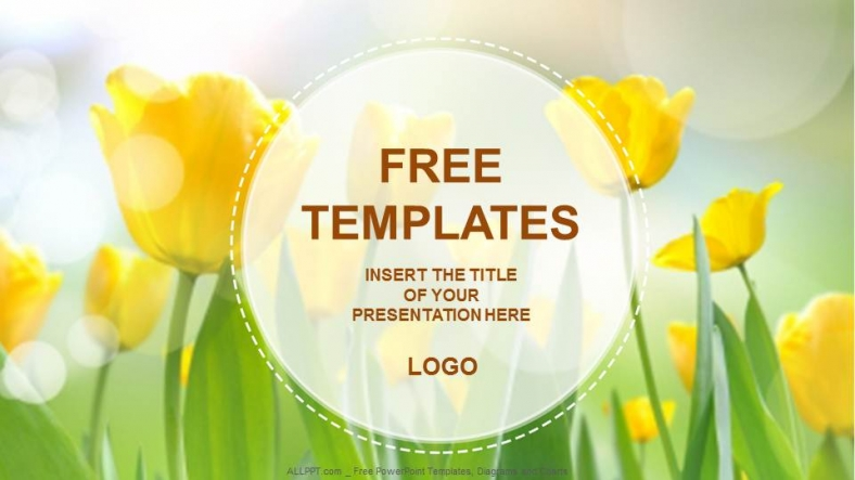 Yellow tulips nature powerpoint templates download free daily yellow tulips nature powerpoint templates toneelgroepblik Image collections