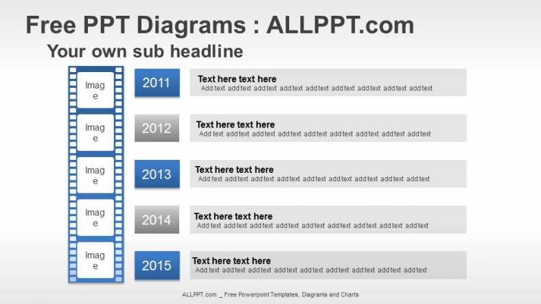 Arrow Timeline PPT Diagrams