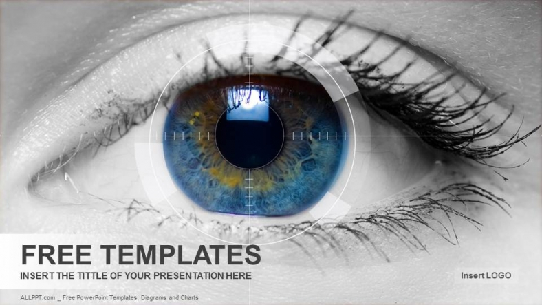 Colored eye medical powerpoint templates download free colored eye medical powerpoint templates toneelgroepblik Images