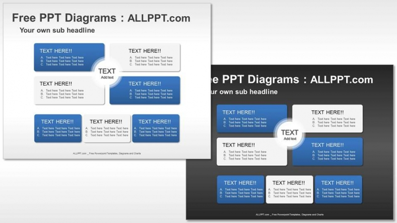 Matrix-Relationship-PPT-Diagrams (3)