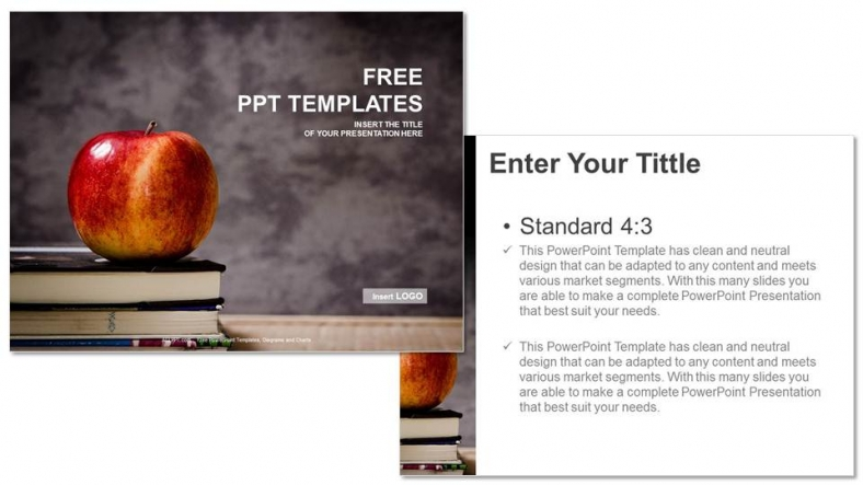 Apple and book education ppt templates apple and book education ppt templates 3 toneelgroepblik