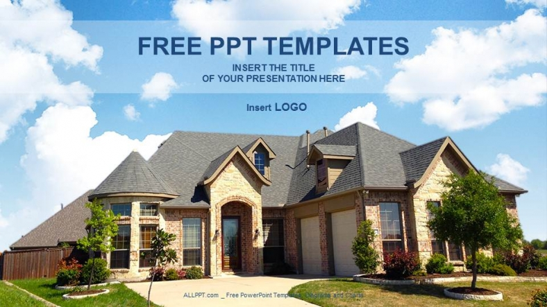 Architecture home real estate ppt templates toneelgroepblik Images