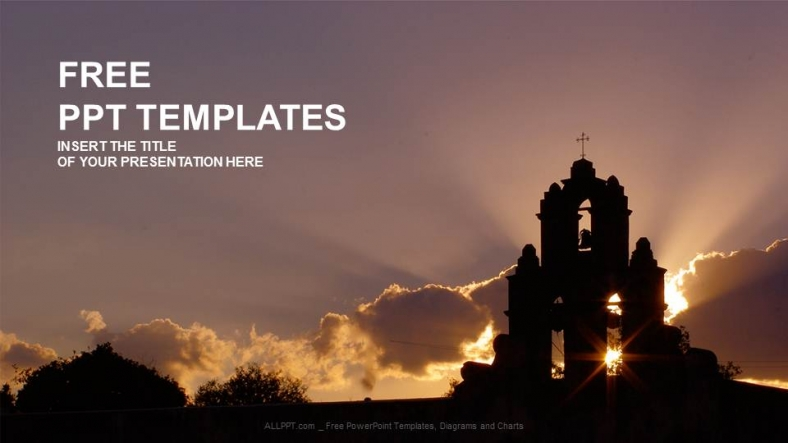 Church Religion Ppt Templates