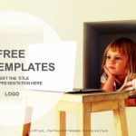 Laptop-And-LIttle-Girl-Education-PPT-Templates (1)