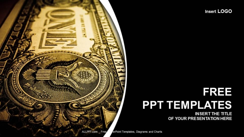 Free finance powerpoint templates design one dollar bill finance ppt templates toneelgroepblik Gallery
