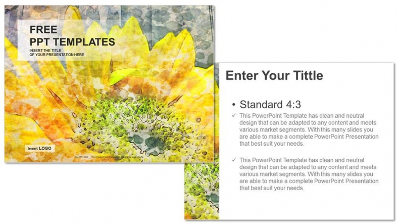 Sunflower-Nature-PPT-Templates (3)