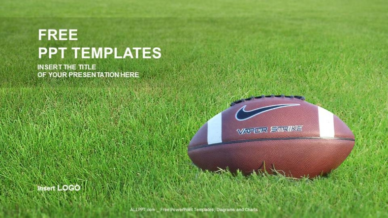 American Football-Sports Ppt Templates