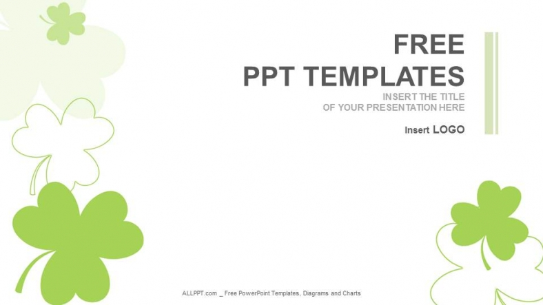 Free green concept powerpoint templates design chameleon sitting on green plant nature ppt templates toneelgroepblik Images
