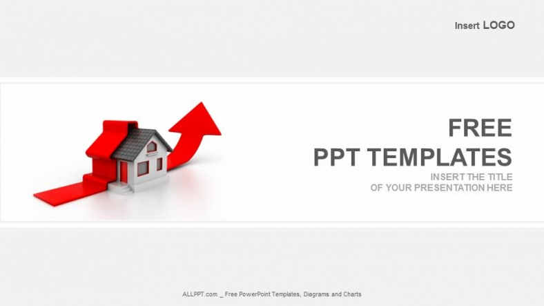 Growing Home Sales Real Estate Powerpoint Templates