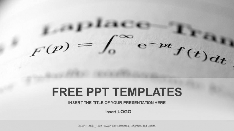 Long Math Education Powerpoint Templates