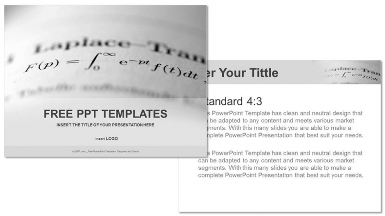 ppt templates mathematics
