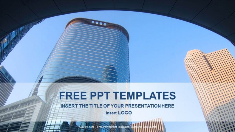 Free finance powerpoint templates design modern architecture real estate powerpoint templates toneelgroepblik