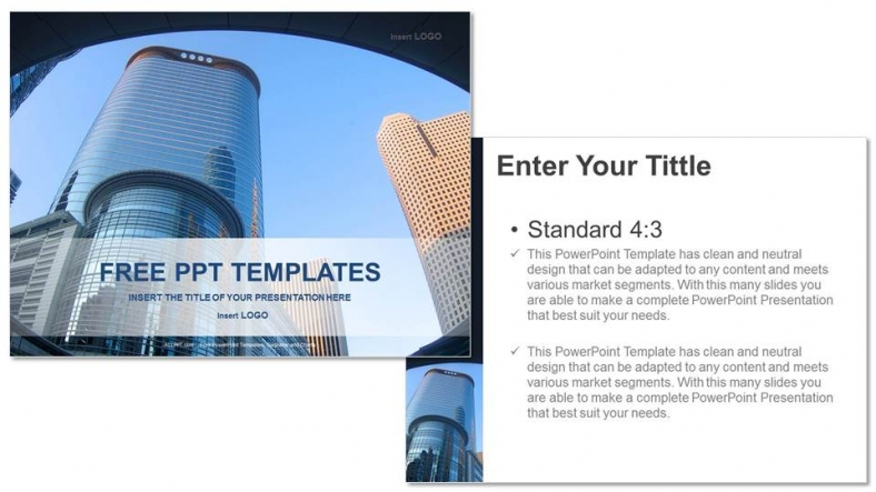 modern architecture-real estate powerpoint templates, Modern powerpoint