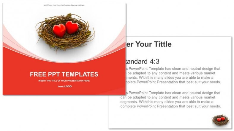 Love-Heart-And-Nest-Recreation-PowerPoint-Templates (3)