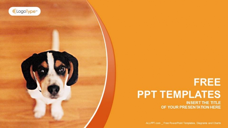 Animal ppt templates roho4senses little dog nature powerpoint templates toneelgroepblik