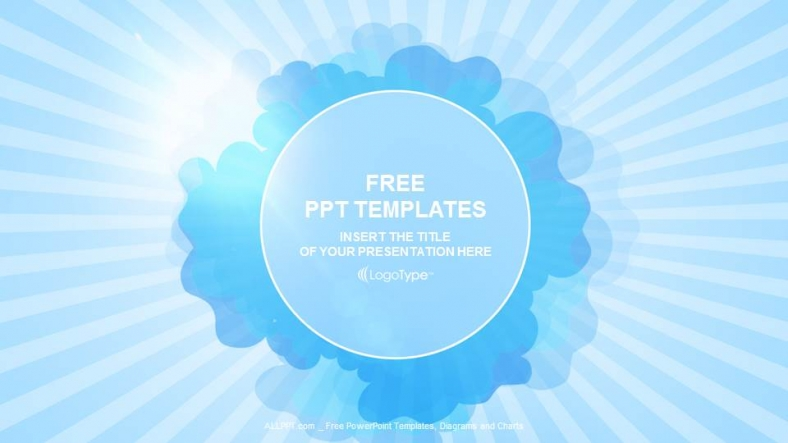 Blue sky and cloud abstract ppt templates toneelgroepblik Image collections