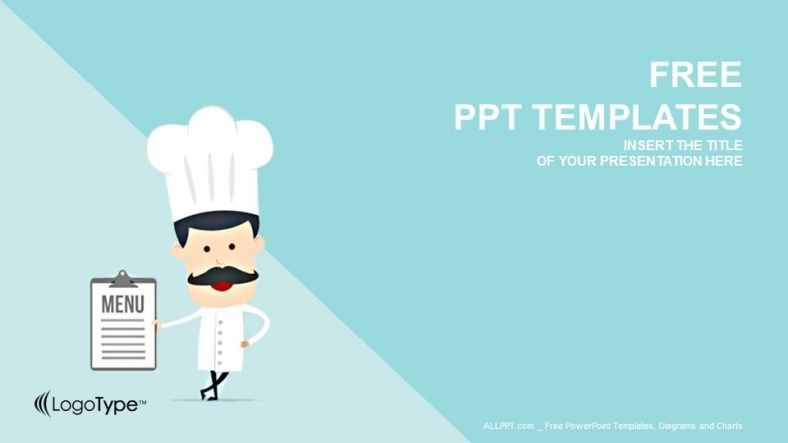Captivating Free PowerPoint Templates Design Ideas Chef Templates