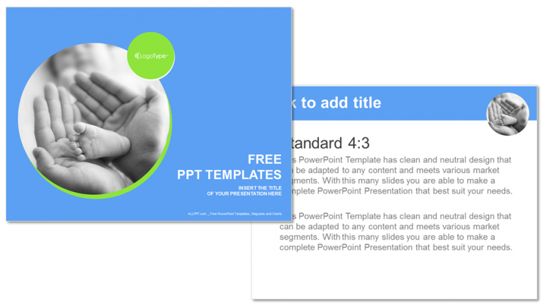 Touching-Baby-Recreation-PowerPoint-Templates (3)