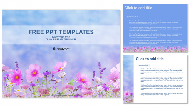 Flower-field-Nature-PowerPoint-Templates (4)