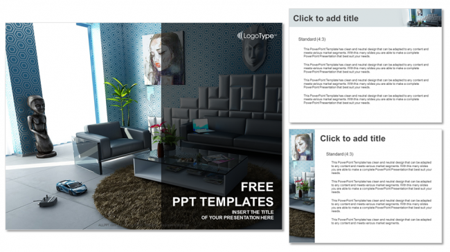 Modern interior real estate ppt templates modern interior real estate ppt templates 4 toneelgroepblik