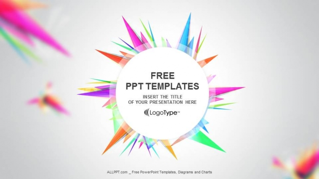 Abstract triangle ppt templates toneelgroepblik Image collections