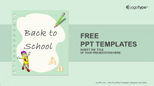 Back to school powerpoint templates toneelgroepblik Image collections