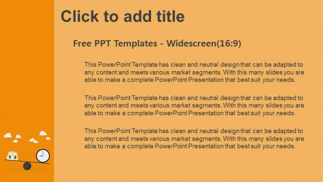 Balancing-With-Money-And-Time-PowerPoint-Templates (3)