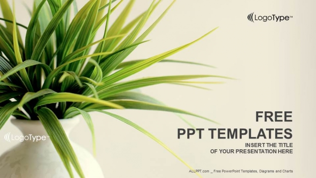 Fresh plant nature powerpoint templates toneelgroepblik Gallery