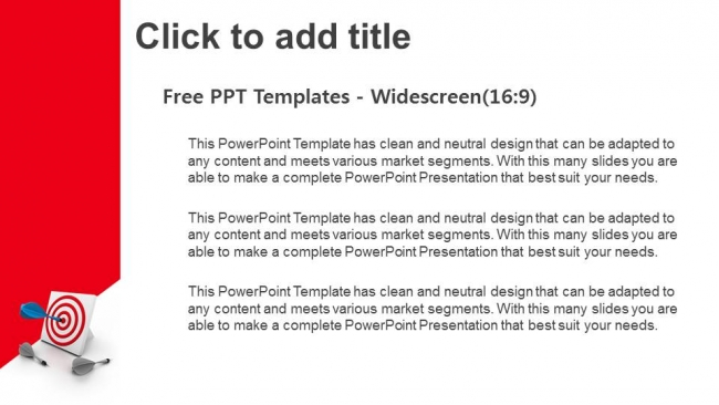 One-Dart-Hitting The-Target-PowerPoint-Templates (3)