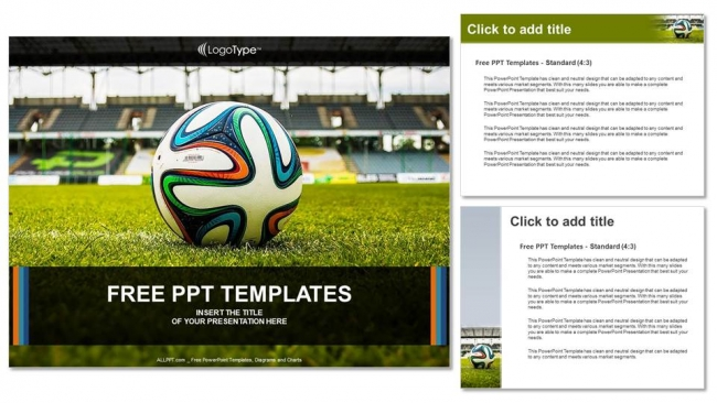 Soccer ball on green grass powerpoint templates soccer ball on green grass powerpoint templates 4 toneelgroepblik Image collections