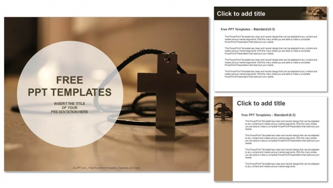 simple-wooden-Christian-cross-necklace-PowerPoint-Templates (4)