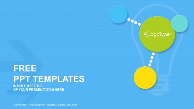 Colorful modern circles PowerPoint Templates