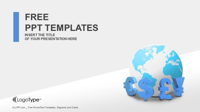 Free simple powerpoint templates design global currencies powerpoint templates toneelgroepblik