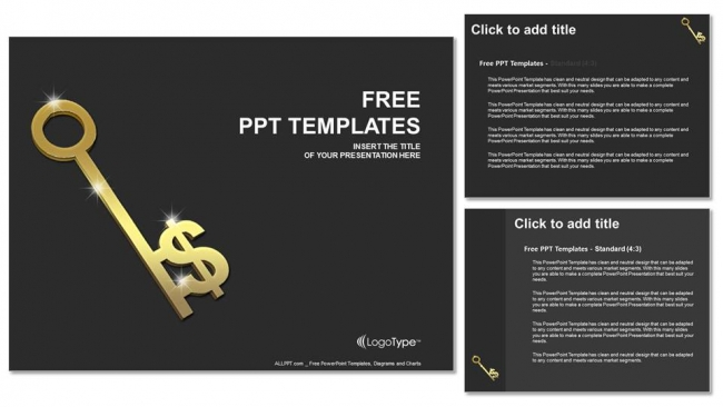 Gold-Key-With-Dollar-Sign-PowerPoint-Templates (4)