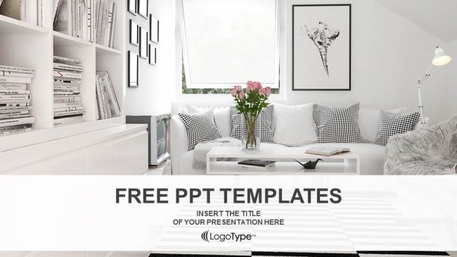 interior design living room powerpoint templates 1
