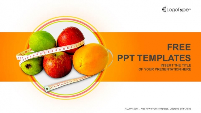 diet and nutrition powerpoint templates, Powerpoint