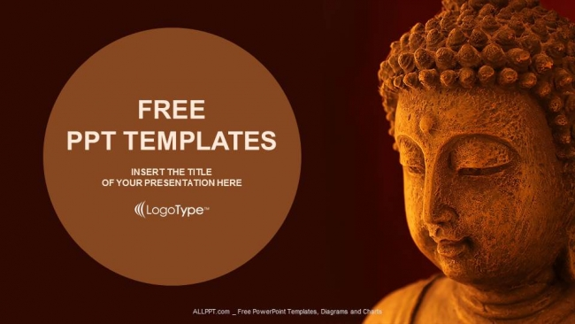 Free religion powerpoint templates design buddha mask powerpoint templates toneelgroepblik Gallery