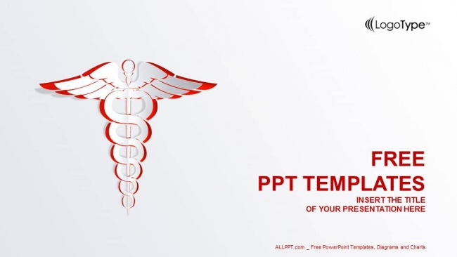medical symbol powerpoint templates, Modern powerpoint