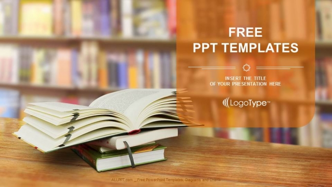 opened book powerpoint templates, Powerpoint