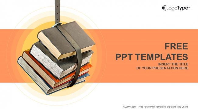 Stack of books powerpoint templates toneelgroepblik Choice Image