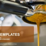 Coffee machine making espresso PowerPoint Templates (1)