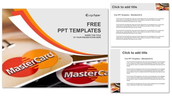 Credit cards PowerPoint Templates (4)